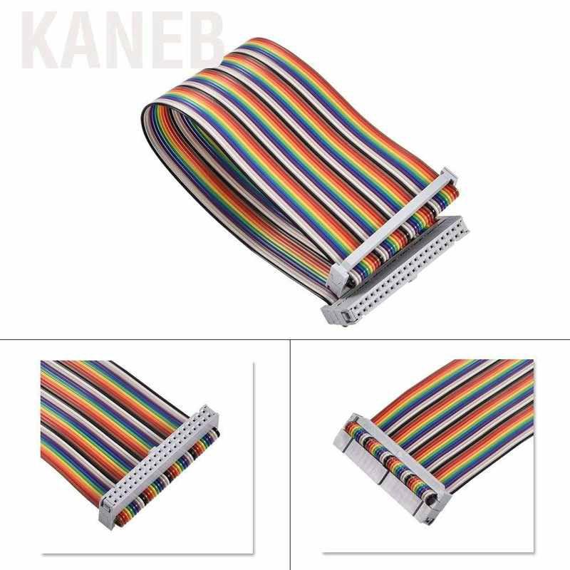Kaneb 適用於Banana Pi Raspberry的40Pin GPIO帶狀扁平適配器電纜線