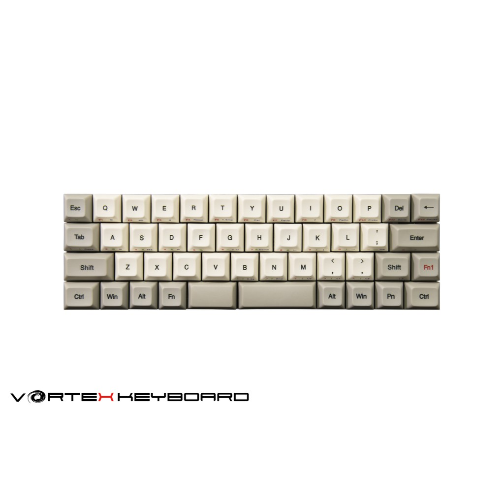 【Vortexgear】Core 40% 非背光 DSA PBT熱昇華鍵帽 CNC機械式鍵盤 Cherry MX