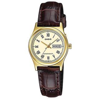【CASIO】卡西歐 指針女錶 LTP-V006GL-9B  原廠公司貨【關注折扣】