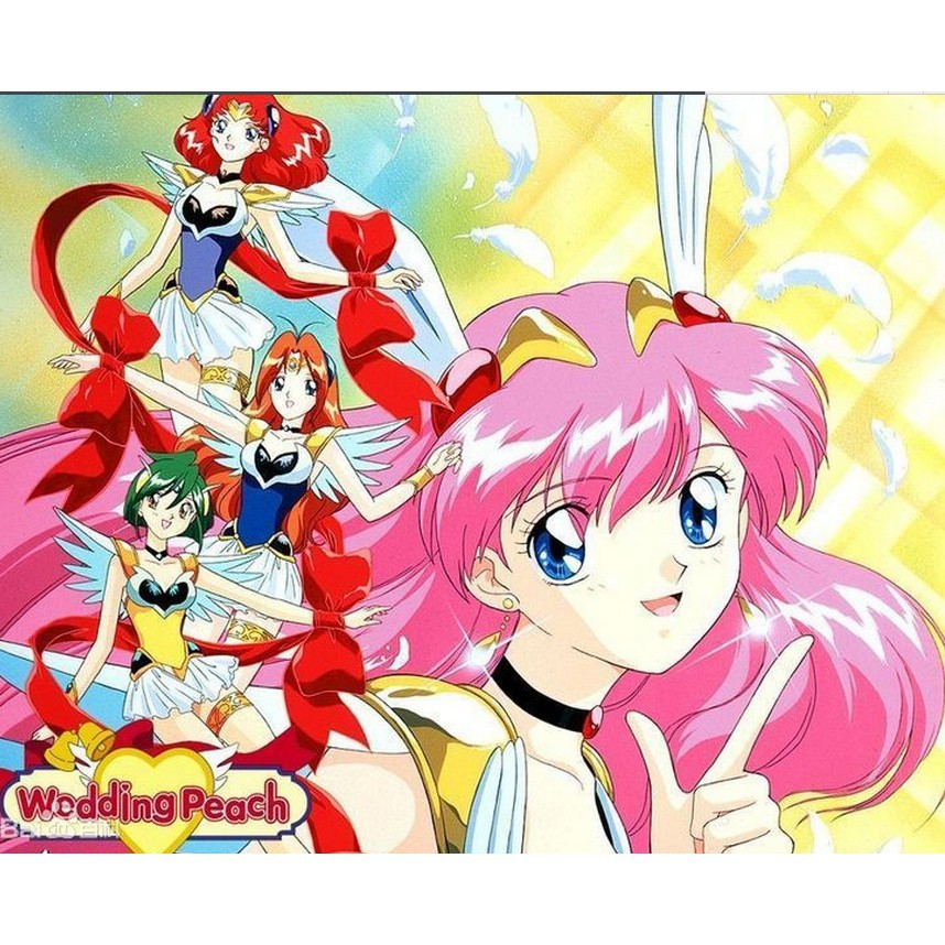 經典美少女動漫愛天使傳說(婚紗小天使)51話全國語雙碟DVD | 蝦皮購物