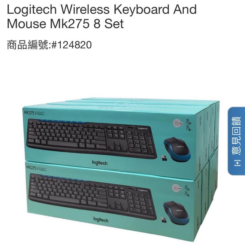 好市多 羅技 無線鍵盤滑鼠組合 Logitech MK275 Costco 好市多 代購