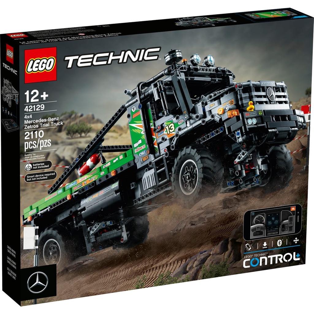 [Yasuee台灣] LEGO 樂高 科技系列 42129 42129 4×4 賓士 Zetros 攀岩卡車