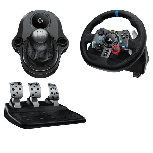 羅技 PS4/PCG29 方向盤+排檔桿組合 Driving Force 力回饋賽車 GT7 駕駛俱樂部 【魔力電玩】