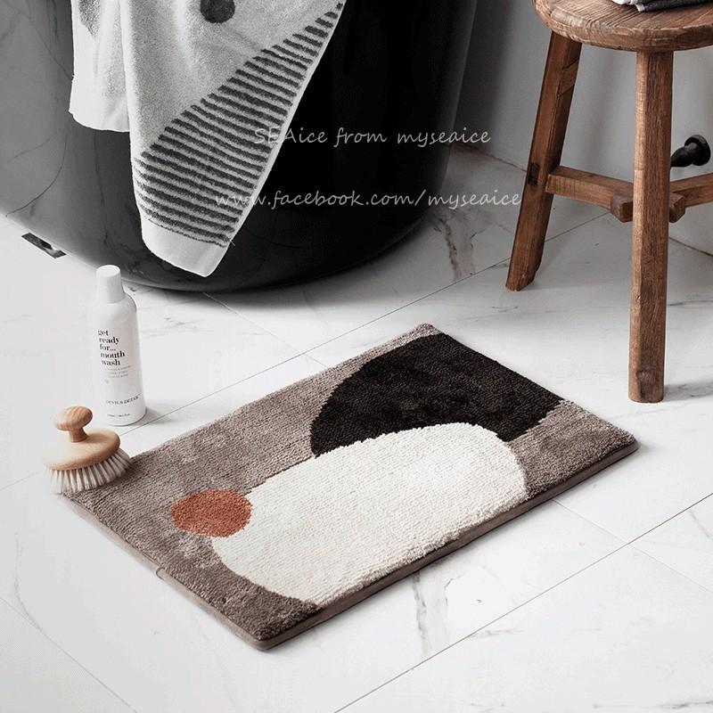 厚地毯吸水, Contemporary Bathroom Rug Sets India