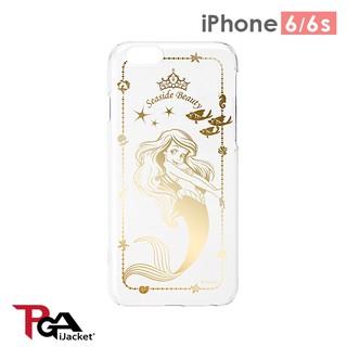 iPhone6/ 6S 手機殼 迪士尼 正版授權 PC/ 金箔/ 銀箔/ 透明 4.7吋 硬殼-美人魚 新北市