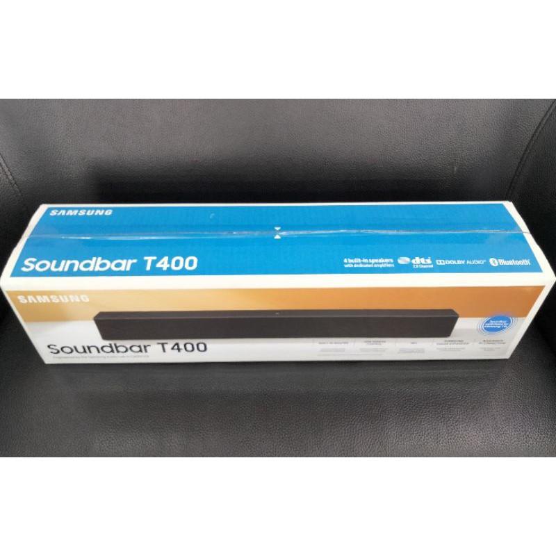 三星Samsung Soundbar T400 藍牙 NFC 聲霸劇院 全新公司貨
