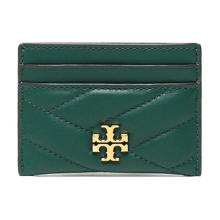 TORY BURCH 皮革卡夾(黑色、綠色) 56815