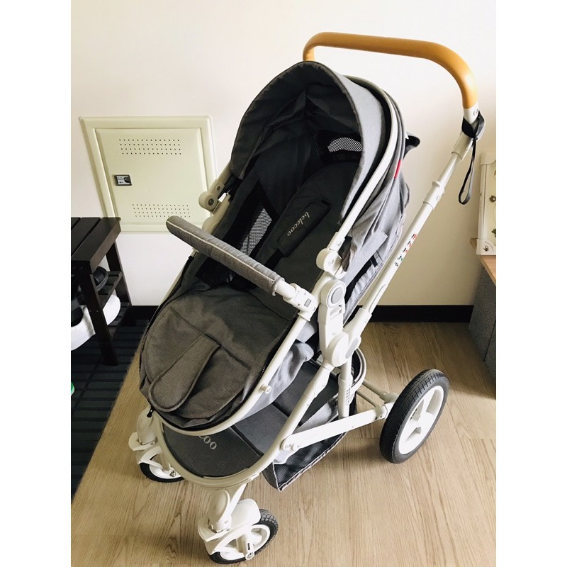 二手-貝麗可嬰兒推車