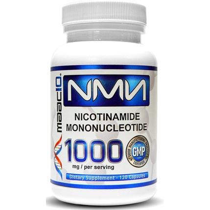 全館最低![美國代購]抗衰老第一品牌MAAC10 NMN 99.9%最高純度 升級版1000mg*120顆 大容量