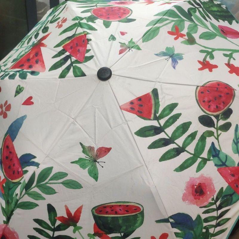 二手 約9成新 紐西蘭 BLUNT XS Metro UV+摺疊傘 雨傘 西瓜 水果 雨傘