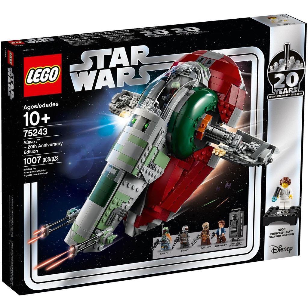 [現貨]樂高 LEGO 75243 星際大戰 Slave I™ – 20th Anniversary Edition
