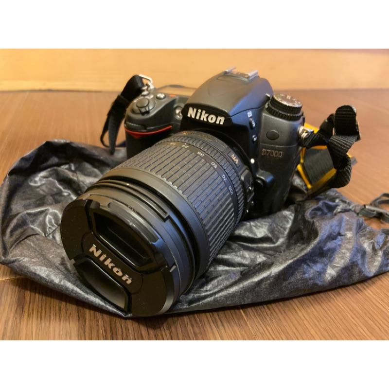 二手Nikon D7000+kit/af-s 35mm f1.8g/遮光罩/SB-400小神燈/數據線相機包防潮箱SD卡