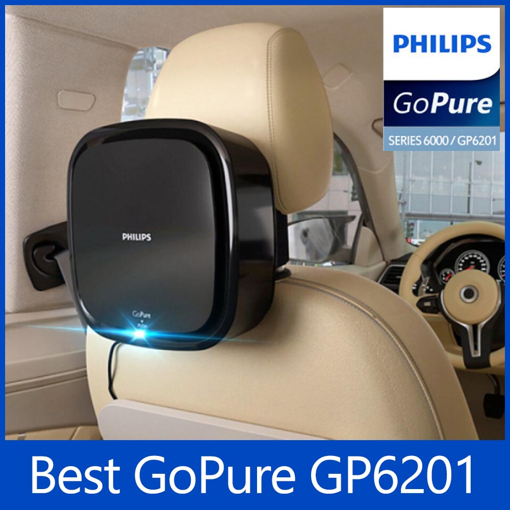 飛利浦 GoPure GP6201 車載空氣清淨機 LED 風細除塵