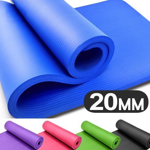 20MM加厚NBR健身墊(送束帶)C160-5231瑜珈墊止滑墊防滑墊運動墊.遊戲墊野餐墊防潮墊子.地墊床墊睡墊.避震墊