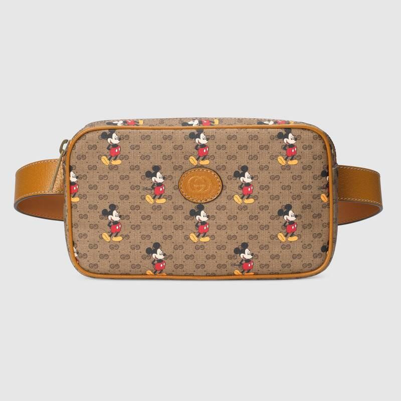 Gucci古馳 Disney x Gucci腰包 米奇胸包602695