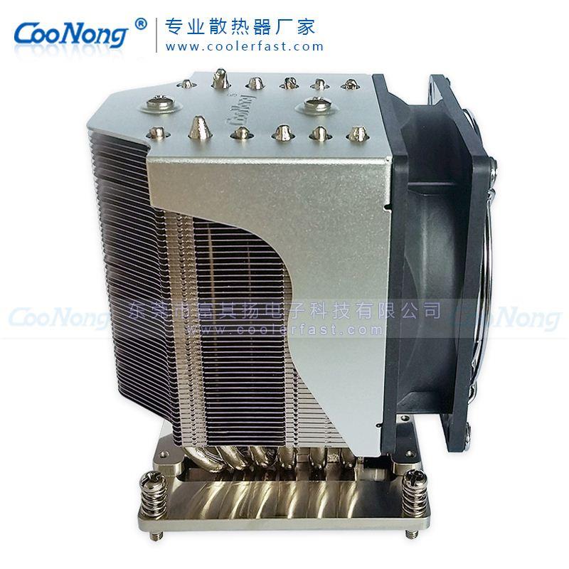 XG2011 2066 115x服務器CPU散熱器工作站6熱管遊戲電腦cpu散熱風扇