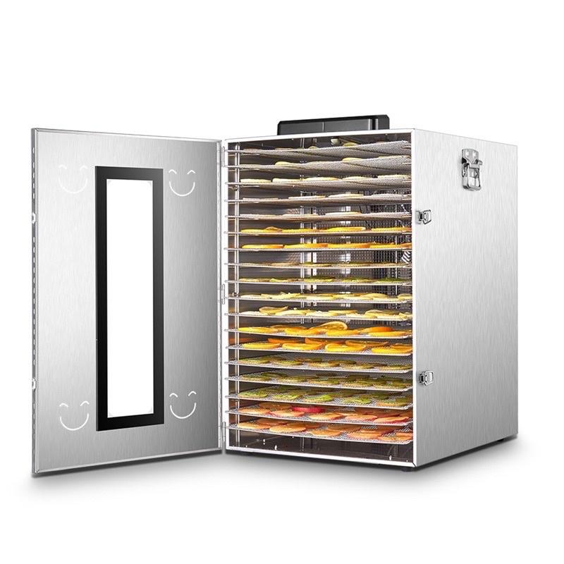 UCK最新款食物乾燥機乾果機專業不銹鋼溫控食品烘乾機 商用20層烘肉乾機 蔬菜脫水機風乾機 果乾機 電子式低溫烤箱