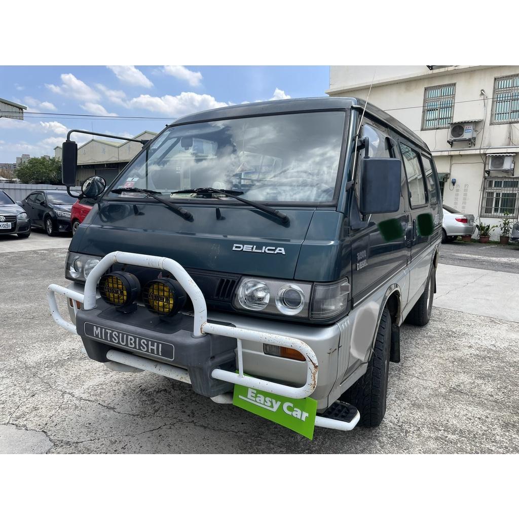 1999得利卡 柴油 自排4WD 2.5綠