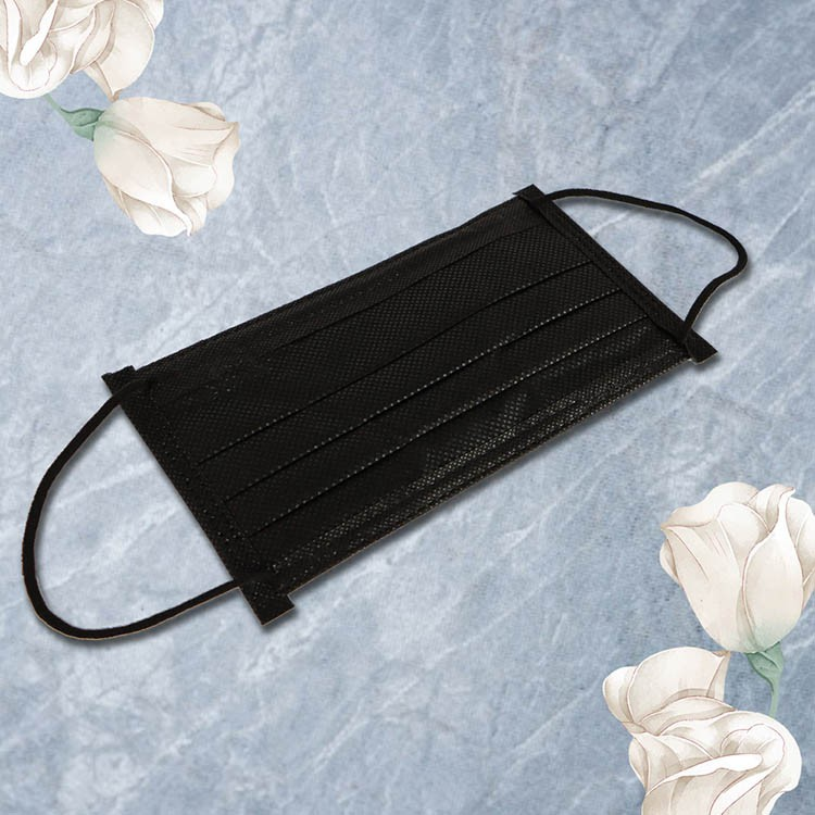 格安德GRANDE 醫用口罩50入/包(黑色),雙鋼印平面成人彩色口罩,台灣製造,MIT