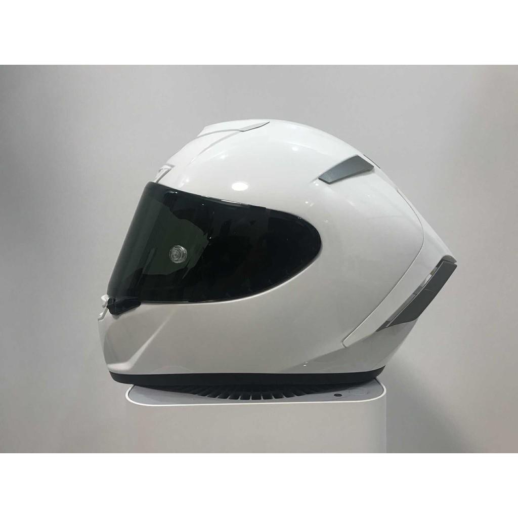 shoei x14頭盔x14純白全盔安全帽 休一頭盔素白色全盔 男女通用四季安全帽 全罩安全帽