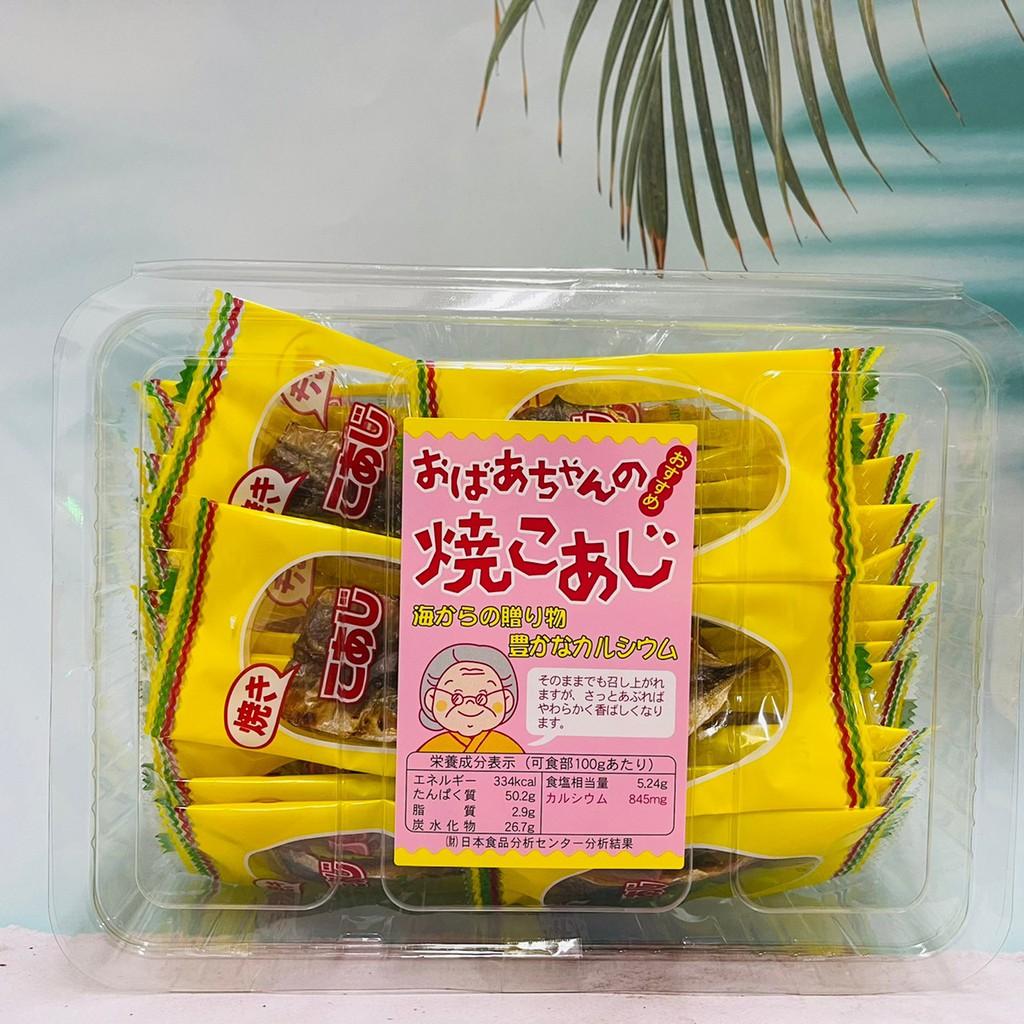日本 ICHIEI 一榮食品 婆婆魚乾燒 竹莢魚乾32入