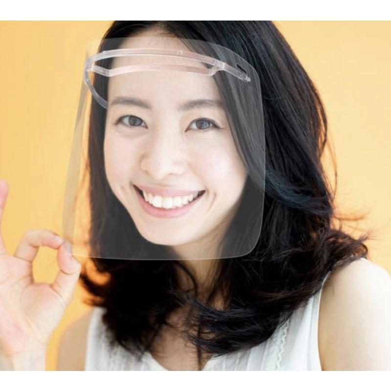 全新 SHARP 夏普奈米蛾眼科技防護面罩/全罩式