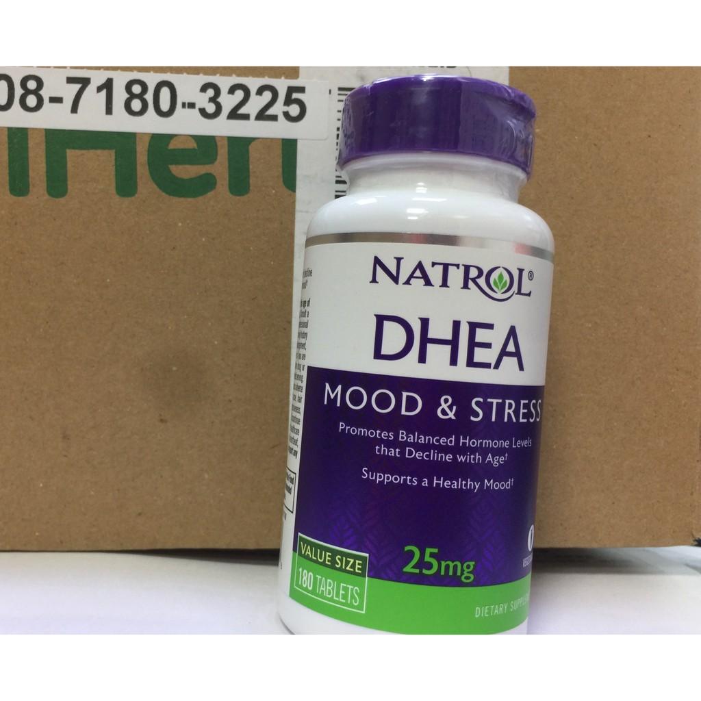 只賣現貨分享價~Natrol DHEA 25mg*180 片