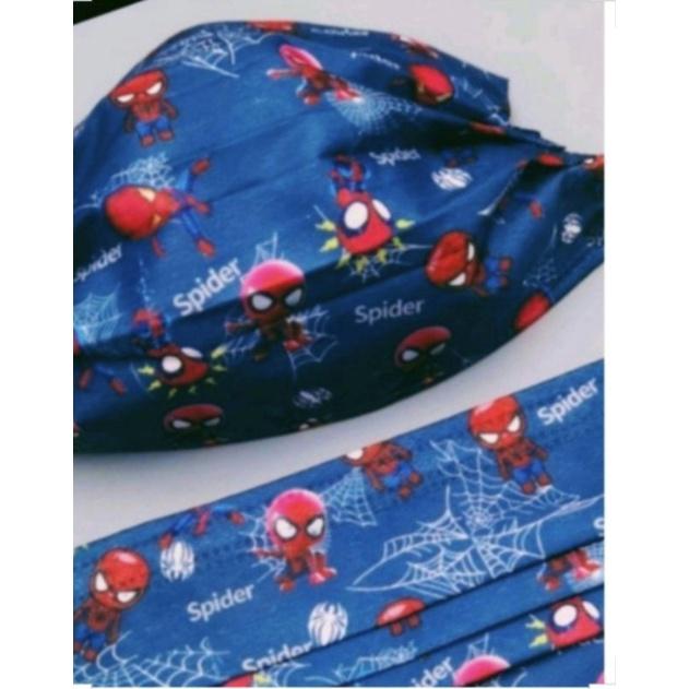 🔥現貨 熱賣🔥[ 蜘蛛人 口罩 ] Q版 Spider-Man 卡通口罩 (非醫療用) 成人款