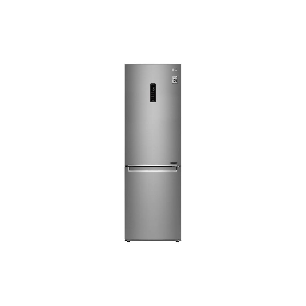 LG | 343L 直驅變頻上下門冰箱 晶鑽格紋銀 GW-BF389SA