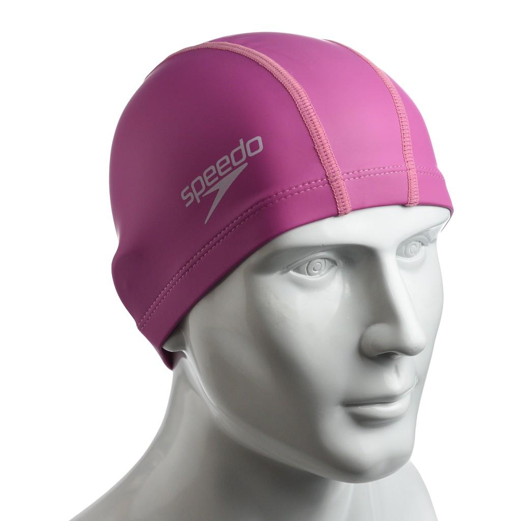 ✨鐘友體育✨現貨 speedo 成人合成泳帽 Pace 粉紅 SD8720646526B