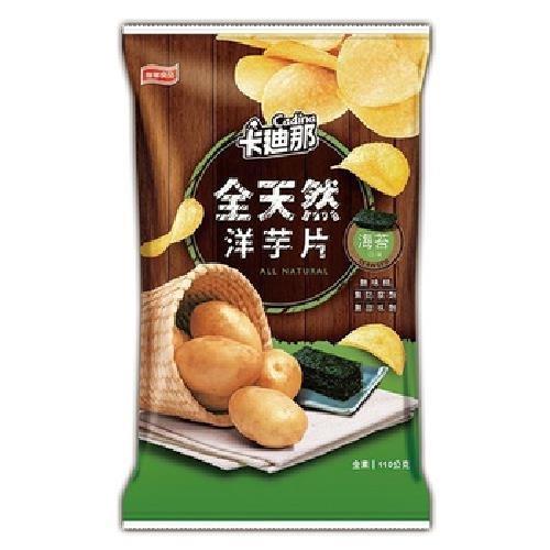 卡迪那 全天然洋芋片(海苔口味-110g)[大買家]