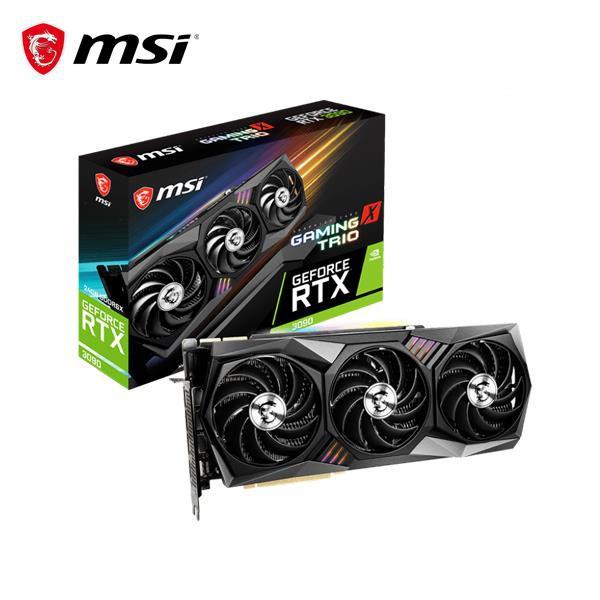 @電子街3C特賣會@全新 微星MSI GeForce RTX 3090 24G GAMING X TRIO RTX309
