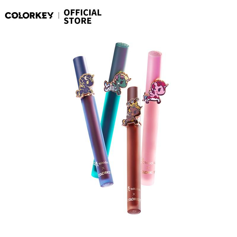 Colorkey X tokidoki空氣唇釉聯名款絲絨易上色霧面口紅 官方正品