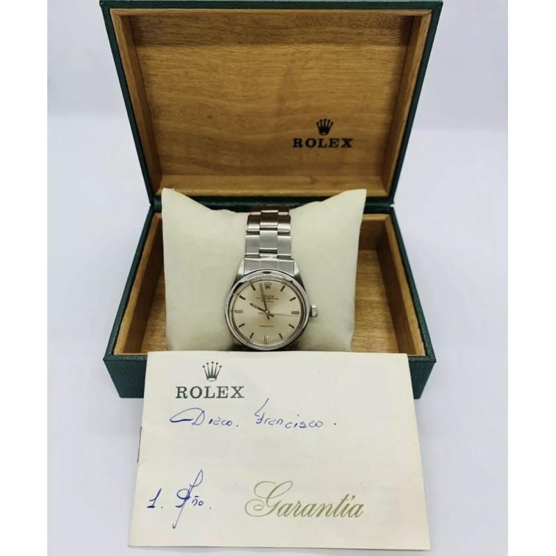 1970 Rolex Air king 5500 勞力士空中霸王,含原廠盒單,古董錶,機械錶