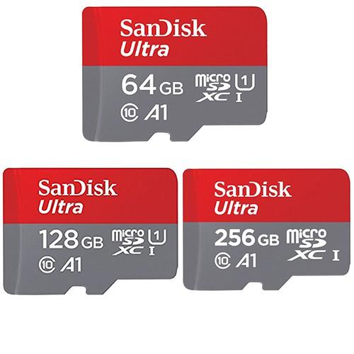 SanDisk 64G 128G 256G microSDXC Ultra 120MB/s A1 U1  手機記憶卡