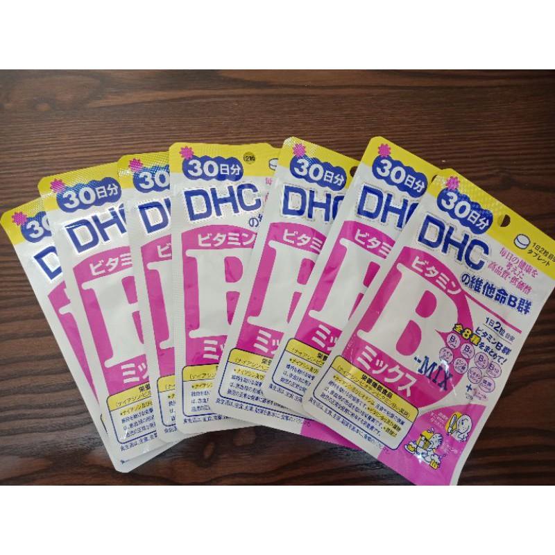 DHC維他命B群60粒(7包)