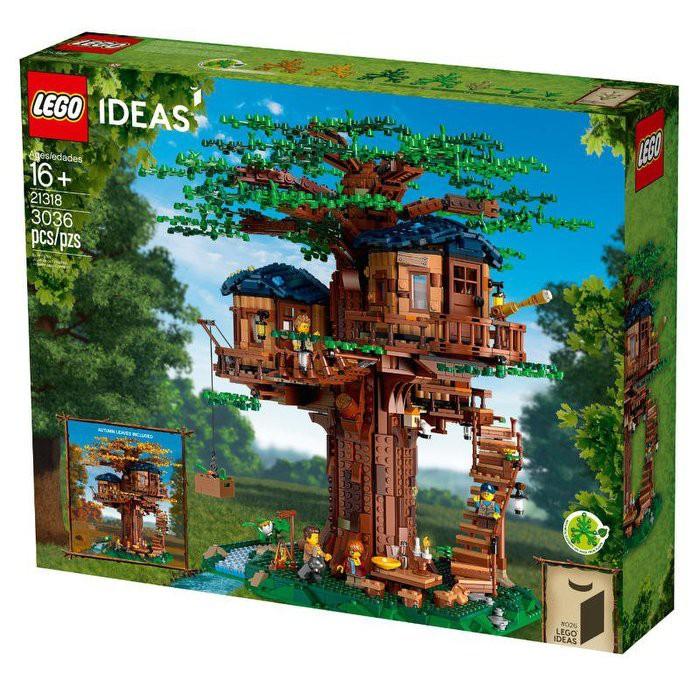 【MR W】LEGO 樂高 積木 玩具 IDEAS 樹屋 21318