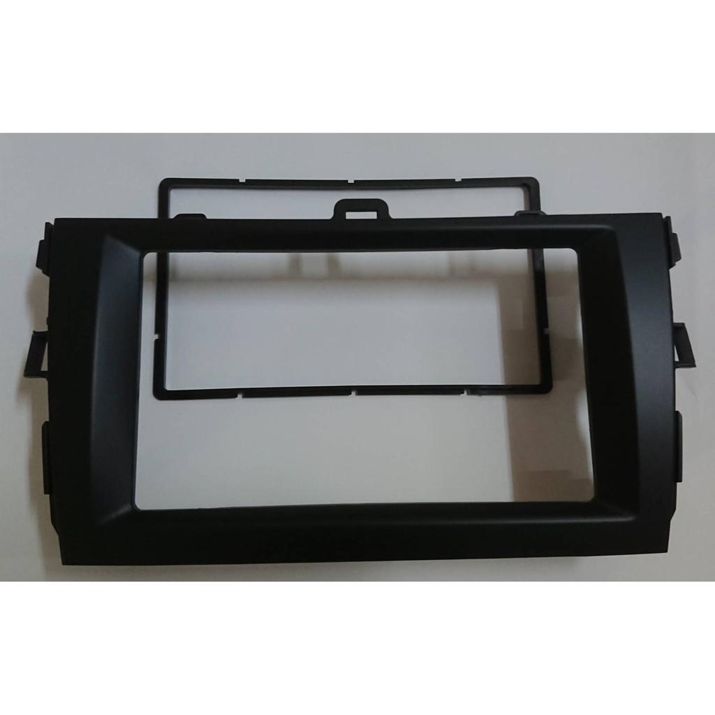 豐田 TOYOTA ALTIS 10代 10.5代 07'~12' 2-DIN DVD音響主機 修飾框