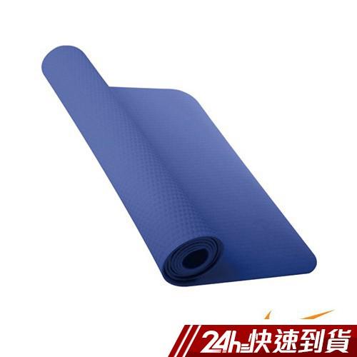 NIKE 瑜珈墊8mm (173cm x 61cm) (藍)