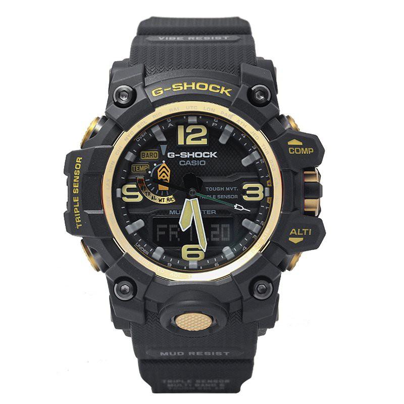卡西歐手錶 G-SHOCK GWG-1000GB-1A/4A/1A3/1A1 太陽能電波泥王錶