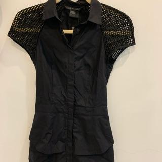 A|X Armani Exchange黑色洋裝