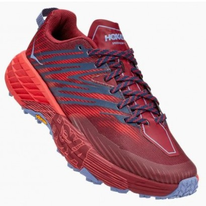 Hoka | Speedgoat 4 for Men (Cordovan)  越野跑鞋 運動鞋