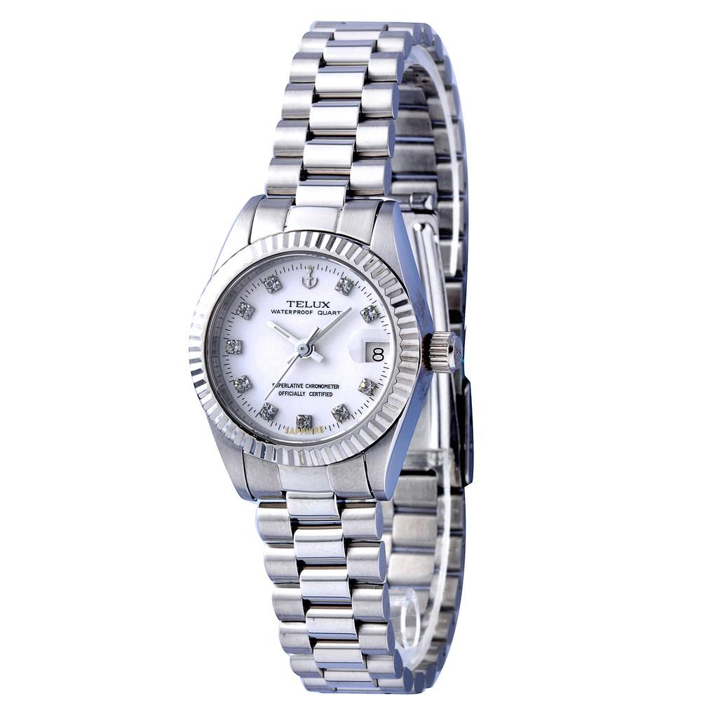 台灣品牌手錶腕錶【TELUX鐵力士】尊爵系列經典女腕錶手錶26mm另有男款台灣製造復古8903W-W01