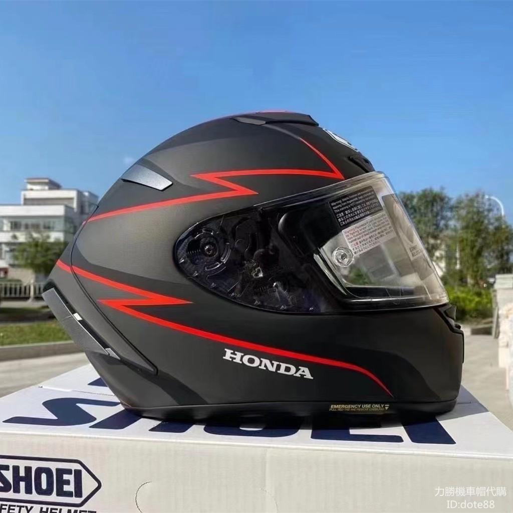 SHOEI X14安全帽聯名款本田盔全罩機車頭盔黑紅燃油摩托男女情侶全盔四季騎士保暖通風透氣防摔保護公路重機騎乘賽車跑盔