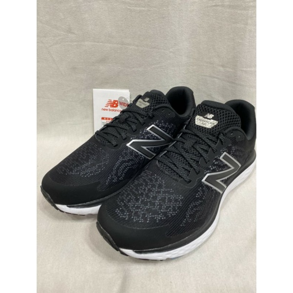 NEW BALANCE 紐巴倫 男款 NB 680 避震慢跑鞋 運動鞋 4E 寬楦 M680LB7 黑