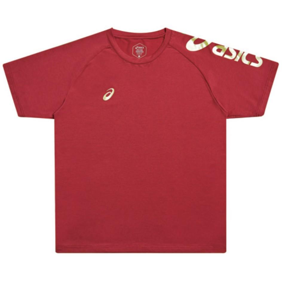 【棒球帝國】 Asics 亞瑟士 2020 短袖T恤 K12047-23 紅