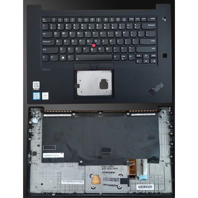 適用於 Thinkpad Lenovo 第一代 X1 Extreme Hermit P1 鍵盤 C 外殼 Palm Re