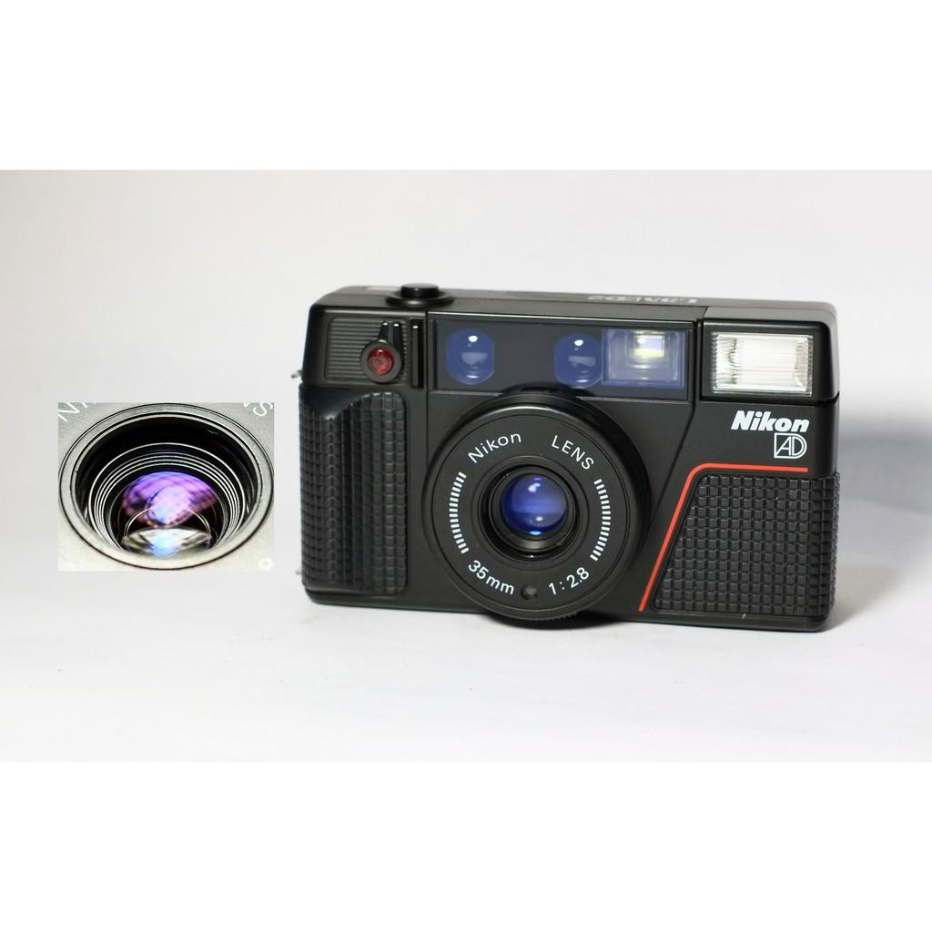 [ 慢調思理 ] 經典 NIKON L35 AD2 日本製 / 35mm f2.8 鏡頭乾淨明亮 . 功能都正常