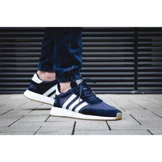 [Butler] Adidas Iniki Runner 海軍藍 復古風 boost 慢跑鞋  BB2092