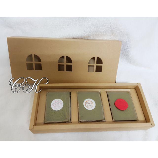 節日禮物首選 手工皂禮盒【3入】
